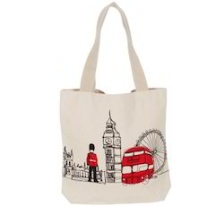 London Pictured Christmas Bag