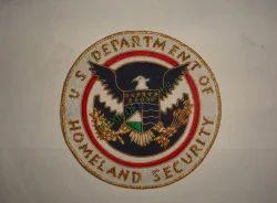 U.S. Department of Homeland Security Blazer Badges