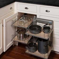 Kitchen corner cabinets suppliers manufacturers dealers - Magic corner cabinet ...