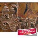 Large Wall Decor Mural - Arjun Rath on Copper Sheet