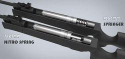 nx100 scorpius 22 caliber air rifle with nitro piston