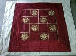 Fancy Table Cover Silk Embroidery