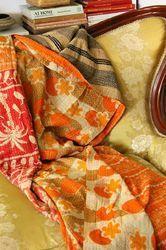 Vintage Patchwork Kantha Quilt