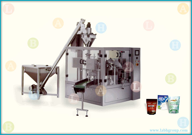 Automatic Horizontal Pick Fill and Seal Pouch Packaging Machine for Powder