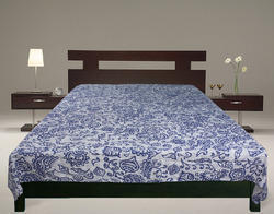 Cotton Kantha Tribal Bed Cover