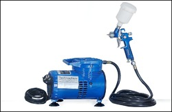 Electric Spray Paint Gun with Mini Compressor
