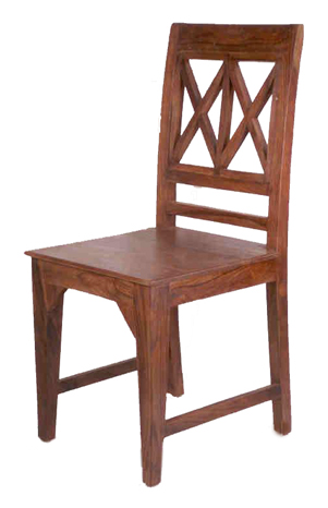 Wooden X Design Chairs Village Antiques And Ethnic