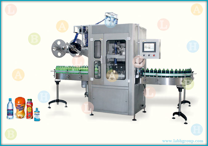 Automatic High Speed Shrink Label Applicator Equipment