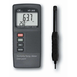 Temperature Humidity & Dew Point Meter