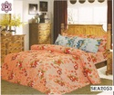Cotton Double Bed Sheet with 2 Pillow Over