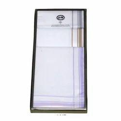 Mens White Handkerchief