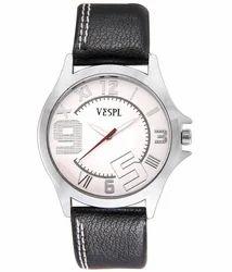 VESPL Decent White Dial Analog Men's Watch-VS101