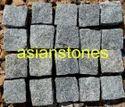 Grey Granite Cube Stone
