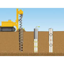 Pile foundations in india for Foundation pilings