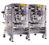 Automatic Twin head Single Servo Vertical Pouch Packing Machine with Filler