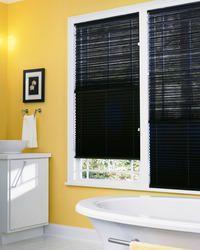 Pleated Shades Bathroom Blind