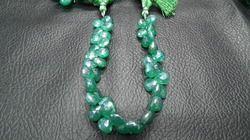 Mystic Green Onyx Heart Briolette