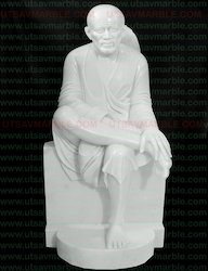 Marble Shirdi Sai Baba Idol