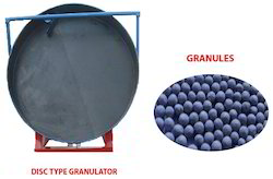 Disc Type Granulator Machine