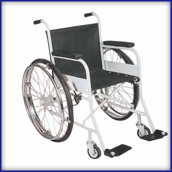 Fix Wheel Chairs - Maharaj Vihar Wheel Chair Manufacturer from Indore