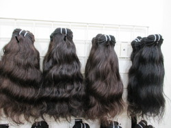 Machine Weft Long Curly Hair