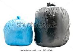 Garbage Bags Red Yellow Blue For Hospitals