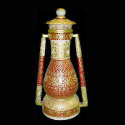 Hand Painted Marble Lantern
