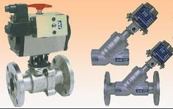Control Valves with Actuator Mechanism