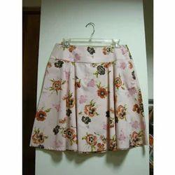 Floral Short Skirt
