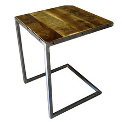 c industrial coffee table