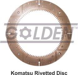 Komatsu Rivetted Disc