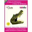 Scary Crocodile Tattoo