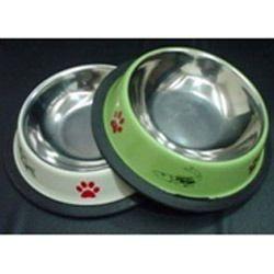 Anti Skid Colored Dog Bowls