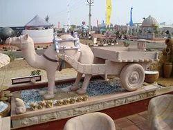 Camel Jeep Stone Animal Figure