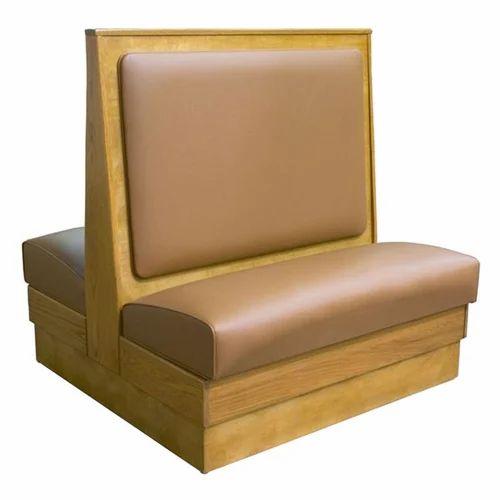 Restaurant Furnitures   Restaurant Back To Back Sofa Manufacturer From  Chennai