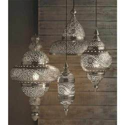 Silver Moroccan Lamps