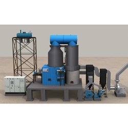 4 pass coal fired thermic fluid heater