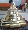 Metal Meru Shree Yantra