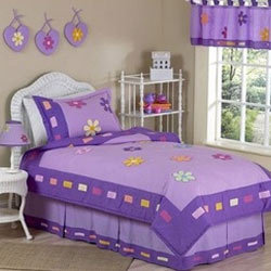 Purple Kids Room Bedsheets