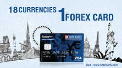 Multi currency forex card hdfc bank