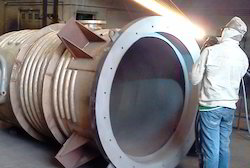 Twin Wire ARC Coating of SS Vessel Tank