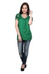 Womens Green Top