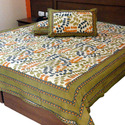 Rajasthani Colourful Cotton Double Bed Sheet -346