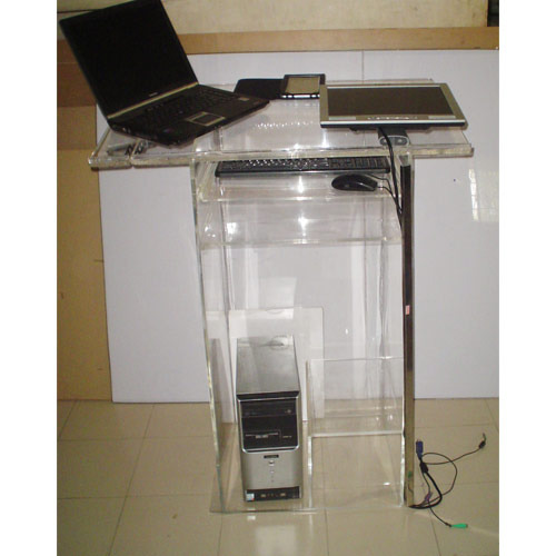 Acrylic Table Top Podium