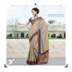Indian Georgette Designer Sarees