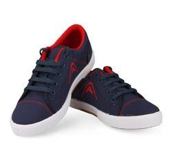 casual canvas shoes pvc injected for gents men 5003 blue