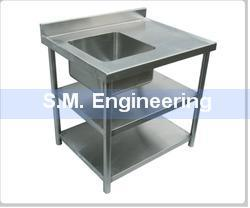 sink with work table