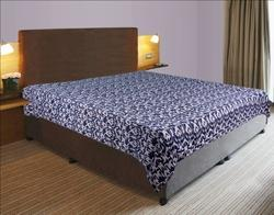 Kantha Cotton Ikat Bed Cover