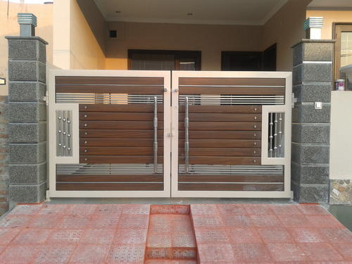 Cera Wood Elevation : House gate designs india home design and style