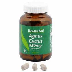 Agnus Castus 550 Mg 60 Tablets